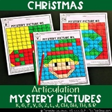 Christmas: Articulation Mystery Pictures