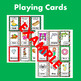 Christmas Articulation Speech Therapy D ALL Positions-Act it Out Card Game