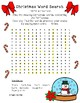 "Christmas Articulation Word Search Voiced and Unvoiced ""th"" Freebie"
