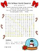 "Christmas Articulation Word Search ""sh"" and ""ch"""