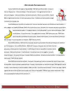 Christmas CI/TPRS Scripts