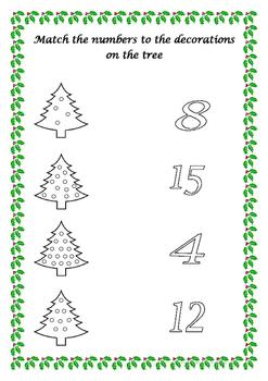 Christmas Assessment Booklet