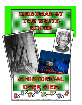 Christmas At the White House - Secondary Close Reading
