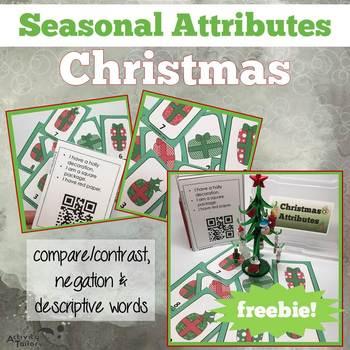 Christmas Attributes FREEBIE