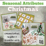 Attributes Game: Chrtistams Compare/Contrast (includes a Cariboo option!)