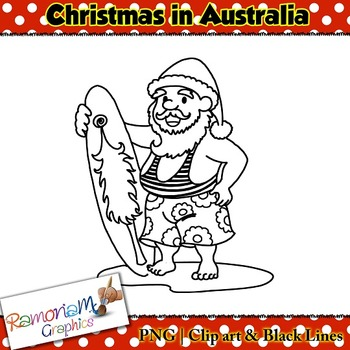 Christmas around the World Clip art Australia