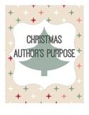 Christmas Author's Purpose