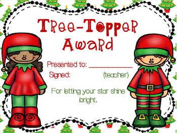 Free Christmas Awards | Freebie Festive Certificates | Silly & Fun