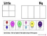 Christmas BIG and Little Activity (Christmas Lights)