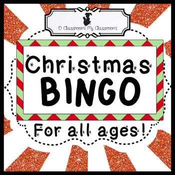 Christmas BINGO - A classic game with a NEW spin! Perfect