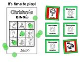 Christmas BINGO Activity (for Kindergarten to Grade 3)