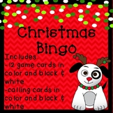 Christmas BINGO Game Party Activity  Behavior Incentive Reward Printables Winter