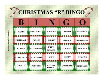 Christmas BINGO-R