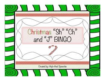 Christmas BINGO-SH/CH/J