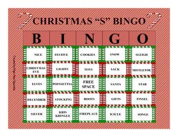 Christmas BINGO-S/Z