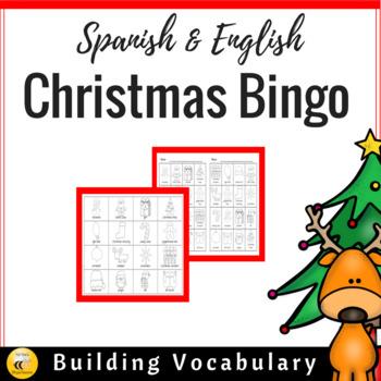 Christmas BINGO {Spanish & English}