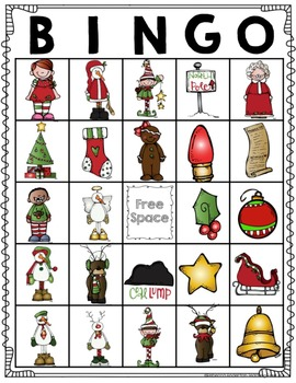 Christmas BINGO and Activities