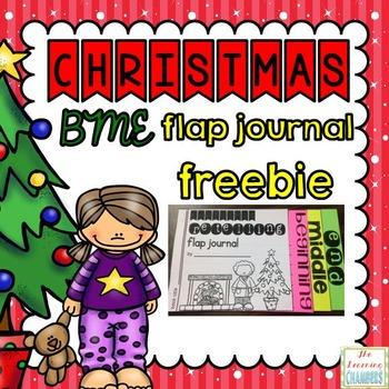 Christmas Reading Response Journal: Freebie, BME, Retelling
