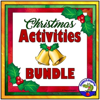 Christmas BUNDLE - Fun Activities for Grades 4 - 8