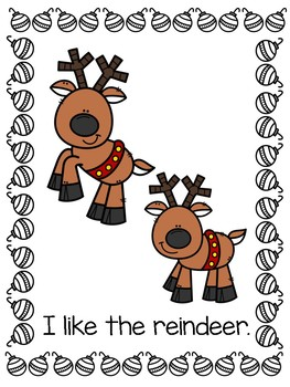 Christmas BUNDLE Emergent Readers (Student Readers + Teacher Version)