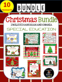 Christmas BUNDLE - Special Education; Autism; Pre-K; Kindergarten; Readers;
