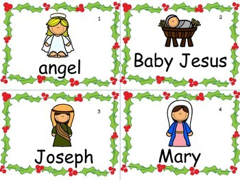 Christmas Baby Jesus Guided Reader & ELA Activities