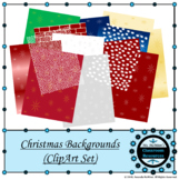 Christmas Backgrounds - (ClipArt Set)