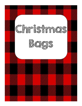 Christmas Bag Labels