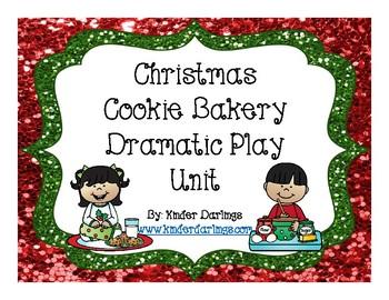 Christmas Bakery Dramatic Play Unit