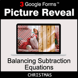 Christmas: Balancing Subtraction Equations - Google Forms