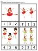 Christmas Ballerina Counting 1 to 10