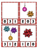 Christmas Balls & Bows Counting Clip Cards Math Center ~ T