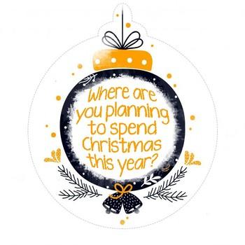 Christmas Balls Speaking Activity