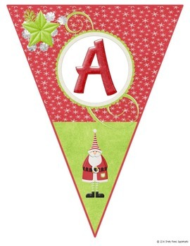 Christmas Banner - Beautiful Classroom Banner