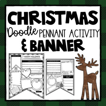 Christmas Banner ~ Chalkboard