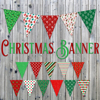 picture about Printable Christmas Banner titled Xmas Banner - Printable - Incorporates 16 option Flags inside 3 dimensions