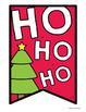 Christmas Banner Set {Printable Pennant Garland / Bunting}