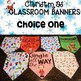 Christmas Banner Set for the Classroom