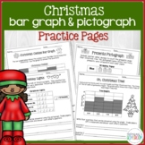 Christmas Bar Graphs & Pictographs - 3rd Grade