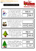 Christmas Bar Model Bundle - Addition & Subtraction - Word Problems: Grades 1 -5
