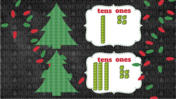 Christmas Base Ten Interactive Activities