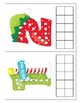 Christmas Base Ten Structure Cards. Hands-on math. Fun and engaging.