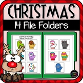 Christmas Basic Skills File Folders (Special Education)