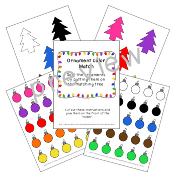 Christmas  Basic Skills Folder Games