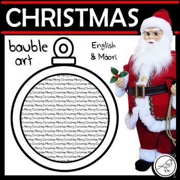 Christmas Bauble Art