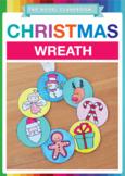Christmas Bauble Wreath - Christmas Craft Activity