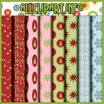 Christmas Baubles 1 Digital Papers