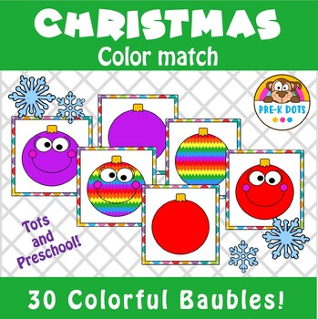 Christmas Baubles Matching Game