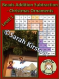 Christmas Beads Ornaments addition and subtraction level 1