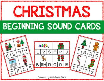 Christmas Beginning Sound Cards